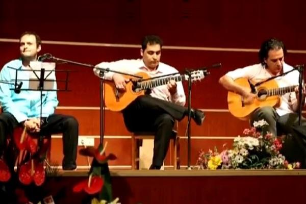 تریوی گیتار گروه یوبال در کنسرت سهراب فدوی
